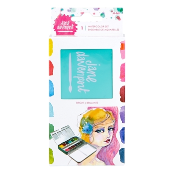 JD-042 Spellbinders WATERCOLORS SET BRIGHTS by Jane Davenport