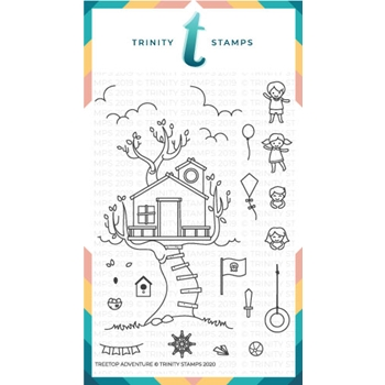 Trinity Stamps TREETOP ADVENTURE Clear Stamp Set tps062*