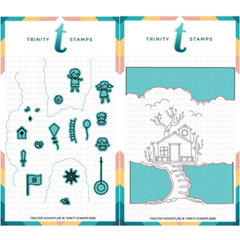 Trinity Stamps TREETOP ADVENTURE Die Set tmdc62