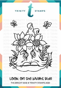 Trinity Stamps THE BRIGHT SIDE Clear Stamp Set tps057