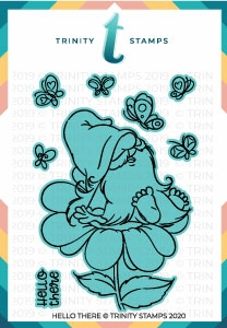 Trinity Stamps HELLO THERE Die Set tmdc54