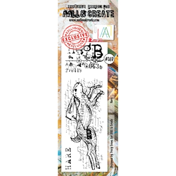 AALL & Create HARE BORDER Clear Stamp Set aal00369