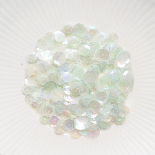 Little Things From Lucy's Cards IRIDESCENT MINT 8MM Sequin Mix LBSM48 Preview Image