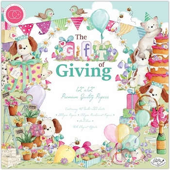 Craft Consortium THE GIFT OF GIVING 12 x 12 Paper Pad CCPPAD019