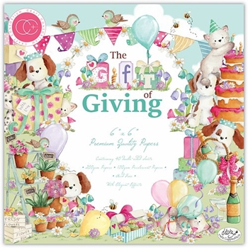 Craft Consortium THE GIFT OF GIVING 6 x 6 Paper Pad CCPPAD019B