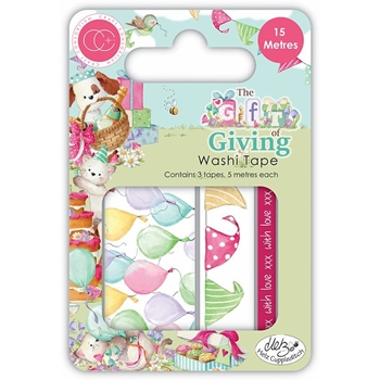 Craft Consortium THE GIFT OF GIVING Washi Tape CCWTP006