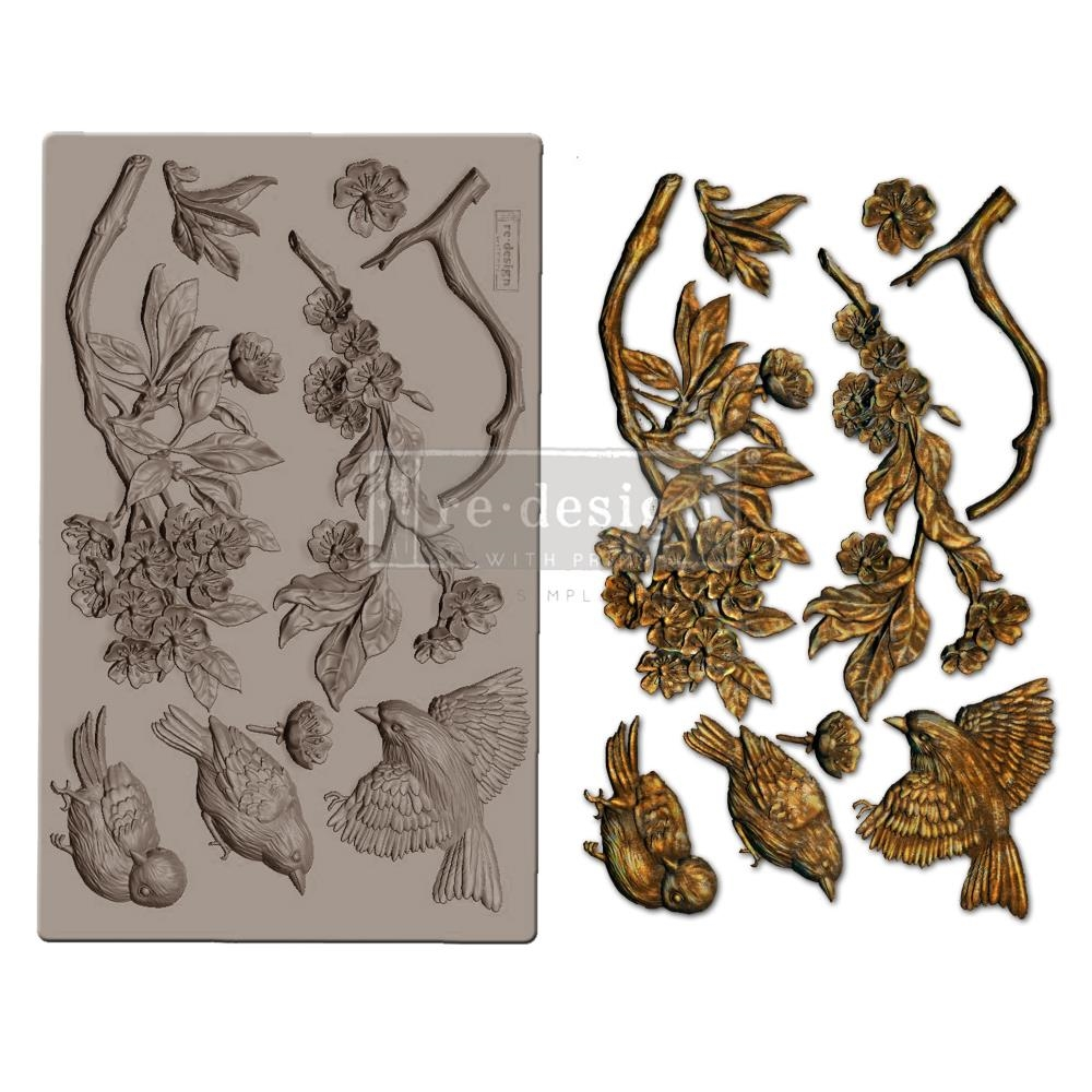 Prima Marketing Aviary Decor Mould