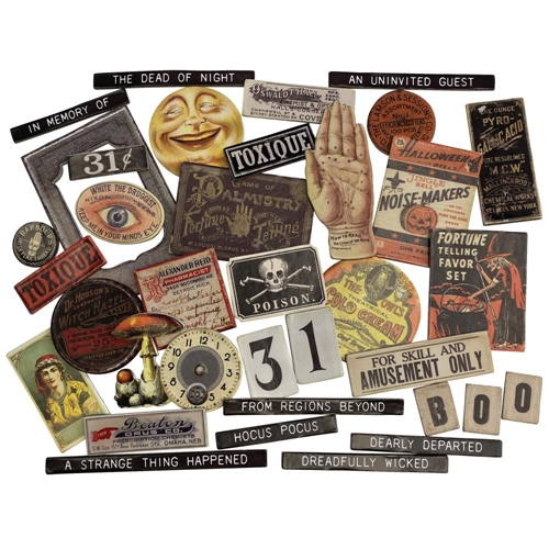 Tim Holtz Idea-ology HALLOWEEN BASEBOARDS th94060 Preview Image