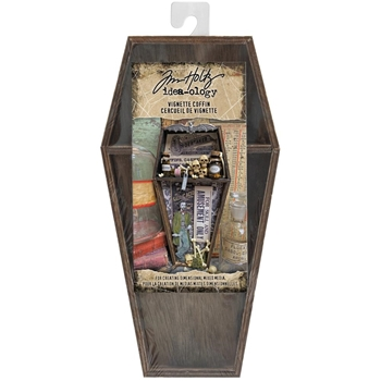 Tim Holtz Idea-ology VIGNETTE COFFIN th94066