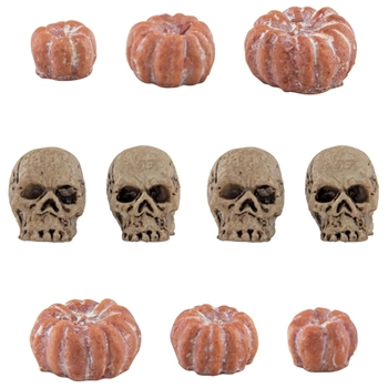 Tim Holtz Idea-ology SKULLS AND PUMPKINS th94067