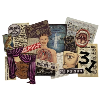 Tim Holtz Idea-ology HALLOWEEN LAYERS th94076