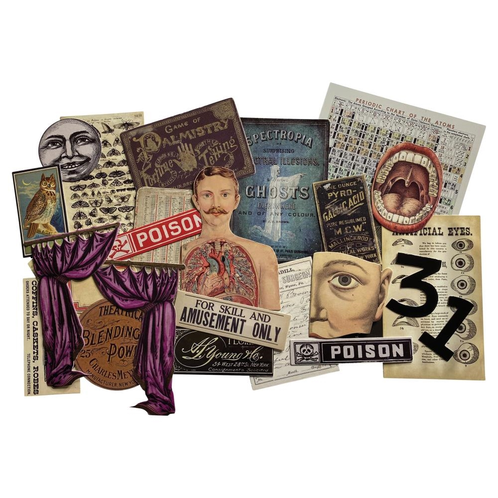 Tim Holtz Idea-ology HALLOWEEN LAYERS th94076 zoom image