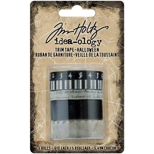Tim Holtz Idea-ology HALLOWEEN TRIM TAPE th94078 Preview Image