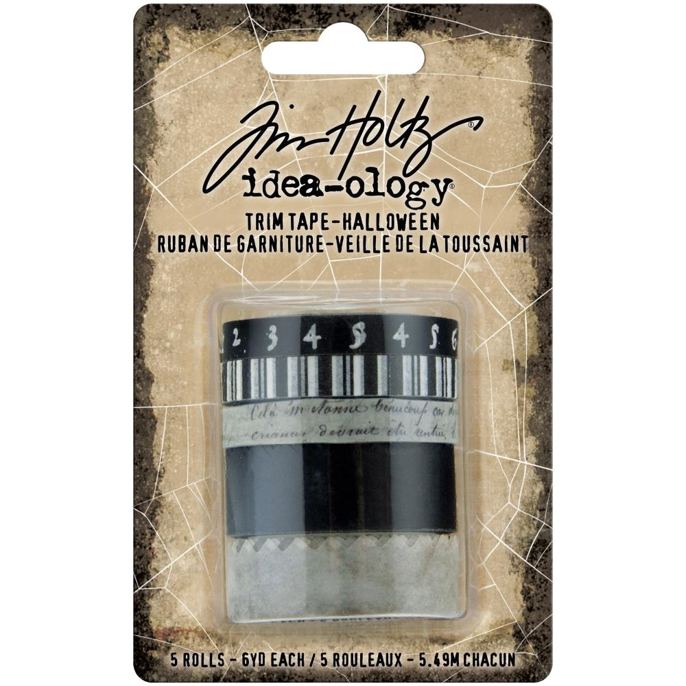 Tim Holtz Idea-ology HALLOWEEN TRIM TAPE th94078 zoom image