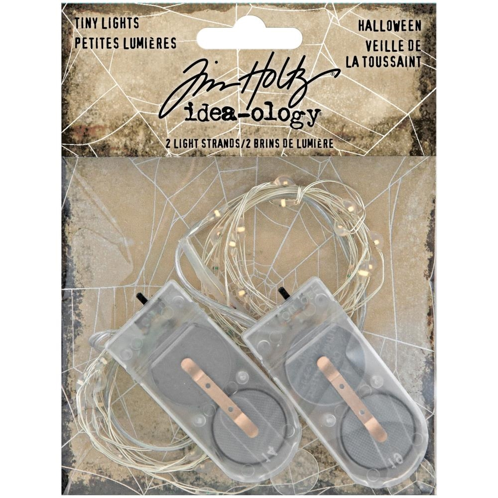Tim Holtz Idea-ology TINY LIGHTS HALLOWEEN th94081 zoom image