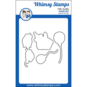 Whimsy Stamps HAPPY HAMSTERS Dies WSD476