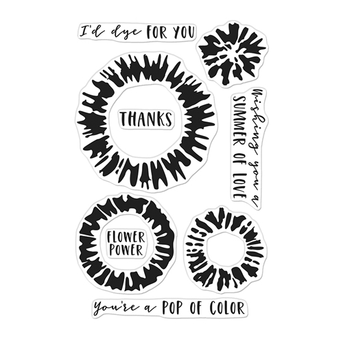 Hero Arts Clear Stamps TIE DYE CM474 Preview Image