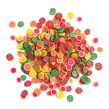 Buttons Galore and More Spinkletz FRUIT COCKTAIL Embellishments NK122