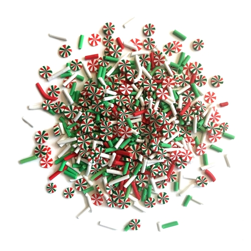 Buttons Galore and More Spinkletz MERRY AND BRIGHT Embellishments NK118 Preview Image