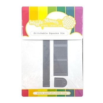 Waffle Flower STITCHABLE SQUARES Dies 310417