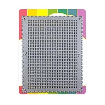 Waffle Flower STITCHABLE PINKING RECTANGLE Die 310412