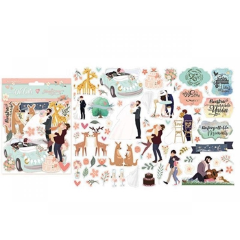 Stamperia LOVE STORY Die Cuts dfldc18*