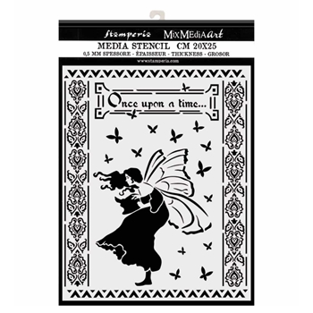 Stamperia ONCE UPON A TIME Stencil kstd051
