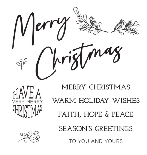 STP-023 Spellbinders TO YOU AND YOURS Clear Stamps  zoom image