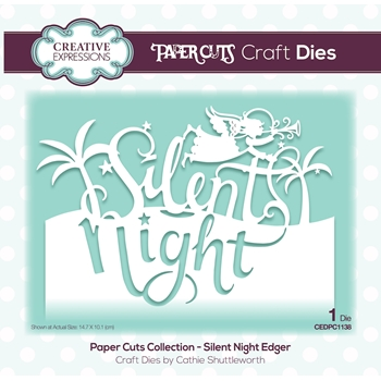 Creative Expressions SILENT NIGHT Paper Cuts Collection Die cedpc1138