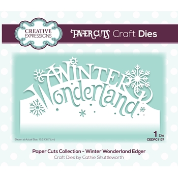 Creative Expressions WINTER WONDERLAND Paper Cuts Collection Die cedpc1137