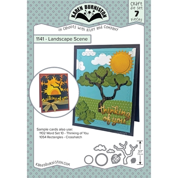 Karen Burniston LANDSCAPE SCENE Die Set 1141
