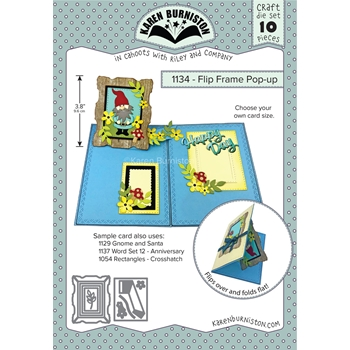 Karen Burniston FLIP FRAME POP-UP Dies Set 1134