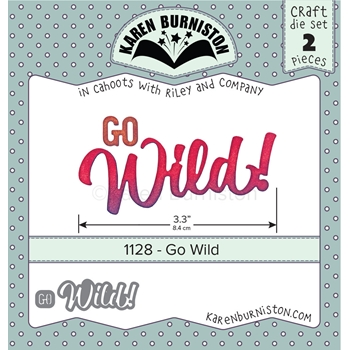 Karen Burniston GO WILD Die Set 1128