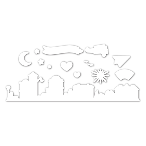 Simon Says Stamp HOME SWEET HOME Wafer Dies sssd112168c Let's Connect Preview Image