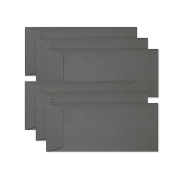 Simon Says Stamp Envelopes SLIMLINE SLATE Open End sss65