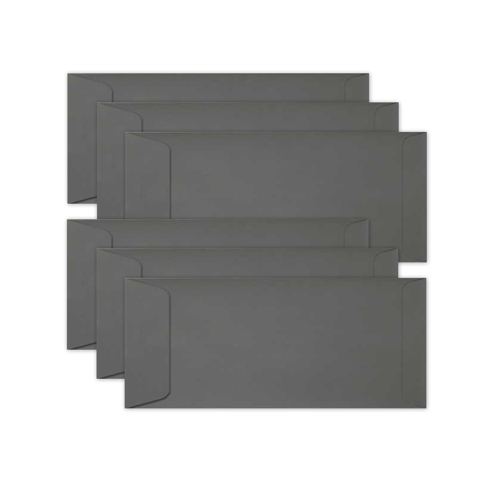 Simon Says Stamp Envelopes SLIMLINE SLATE Open End sss65 Let's Connect zoom image