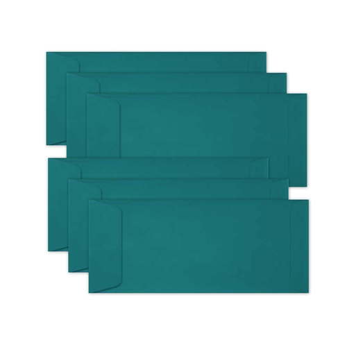 Simon Says Stamp Envelopes SLIMLINE TEAL Open End sss69 Let's Connect Preview Image