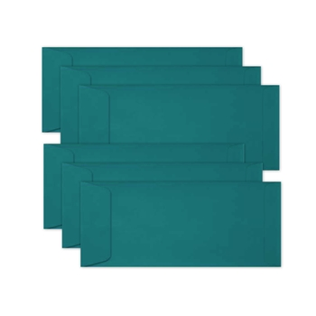 Simon Says Stamp Envelopes SLIMLINE TEAL Open End sss69 Let's Connect