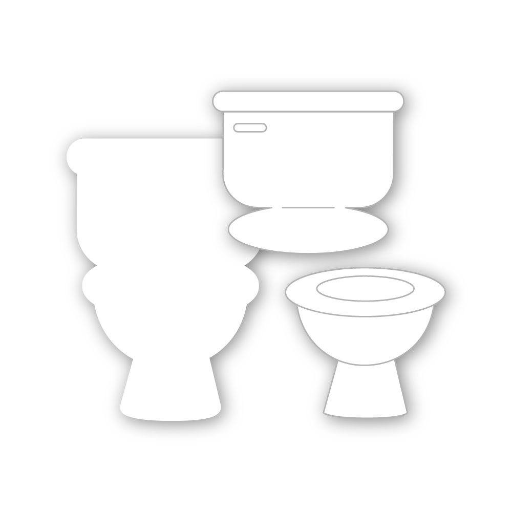 Simon Says Stamp INTERACTIVE TOILET Wafer Dies sssd112181 Let's Connect zoom image