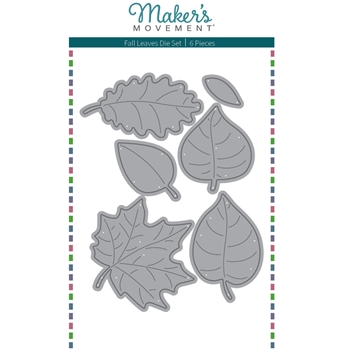 Maker's Movement FALL LEAVES Die Set mod296