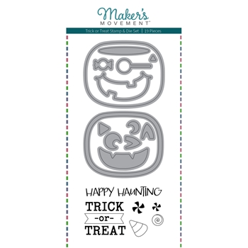 Maker's Movement TRICK OR TREAT Stamp And Die Set msd225