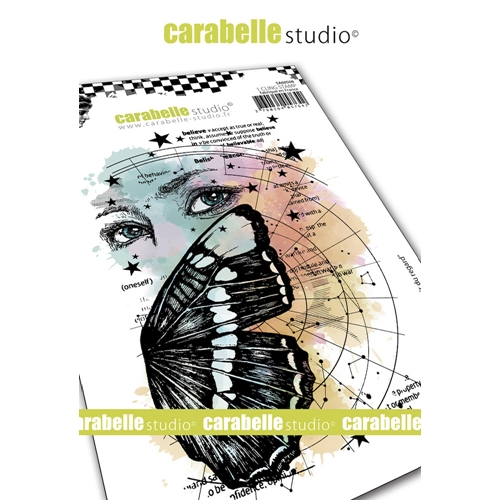 Carabelle Studio THE POWER OF SIGHT Cling Stamp sa60508 Preview Image