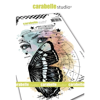 Carabelle Studio THE POWER OF SIGHT Cling Stamp sa60508
