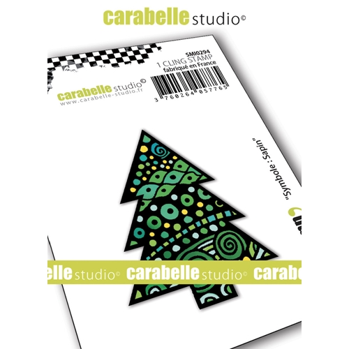 Carabelle Studio SYMBOL CHRISTMAS TREE Cling Stamp smi0294* Preview Image