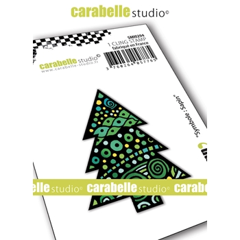 Carabelle Studio SYMBOL CHRISTMAS TREE Cling Stamp smi0294