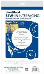 Therm O Web SEW-IN INTERFACING Mask Making Material q2175