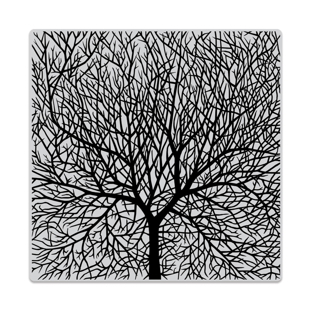 Hero Arts Cling Stamp BARE BRANCHED TREE Bold Prints CG816 zoom image