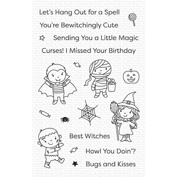 My Favorite Things BOO CREW Clear Stamps cs498
