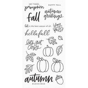 My Favorite Things AUTUMN BLESSINGS Clear Stamps cs492