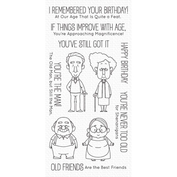 My Favorite Things OLD FRIENDS Clear stamps bb107